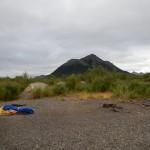 Het eerste kamp Lake Goodnewes